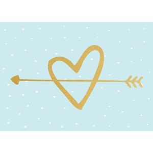 Picture of Kaisercraft Kaiser Style Ευχετήριες Κάρτες - Arrow Heart