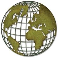 Εικόνα του Μήτρα Κοπής Sizzix Thinlits Dies By Tim Holtz - Globe