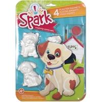 Εικόνα του Σετ φιγούρες-μαγνητάκια Spark Plaster Magnet Kit - Playful Pups