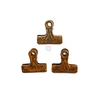 Εικόνα του Prima Art Daily Planner Metal Binder Clips - Rusty