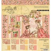 """Εικόνα του Graphic 45 Double-Sided Paper Pad 8""""X8"""" - Princess"""