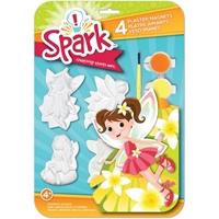 Εικόνα του Σετ φιγούρες-μαγνητάκια Spark Plaster Magnet Kit - Fairy Dust