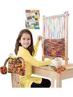 Εικόνα του Multi-Craft Weaving Loom Kit - Ξύλινος Αργαλειός για Παιδιά