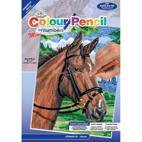 Εικόνα του Royal & Langnickel Mini Color Pencil By Number Kit - Horse