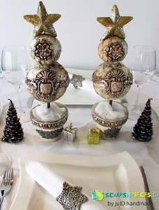 Christmas Decorations with IOD by Julia Deligiannidou