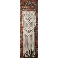 Εικόνα του Macrame Wall Hanger Kit - Hearts