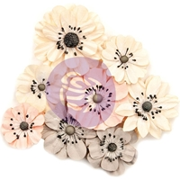 Εικόνα του Χάρτινα Λουλούδια Prima Marketing Spring Farmhouse Mulberry Paper Flowers - Simplify