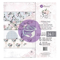 "Εικόνα του Χαρτιά Scrapbooking Prima Marketing Double-Sided Paper Pad 12""X12"" - Poetic Rose"