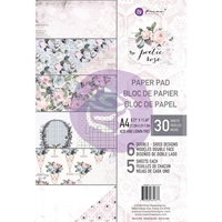 Εικόνα του Χαρτιά Scrapbooking Prima Marketing Double-Sided Paper Pad A4 - Poetic Rose