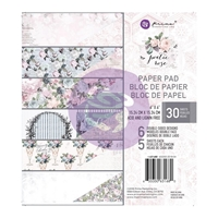 Εικόνα του Χαρτιά Scrapbooking Prima Marketing Double-Sided Paper Pad 6''X6'' - Poetic Rose