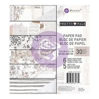 Εικόνα του Χαρτιά Scrapbooking Prima Marketing Double-Sided Paper Pad 6''X6'' - Pretty Pale