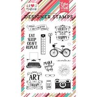 """Εικόνα του Σφραγίδες Echo Park Stamps 4""""X6"""" - I Am A Crafter"""