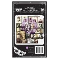 """Εικόνα του Μπλοκ Με Αυτοκόλλητα Prima Art Daily Planner Sticker Pad 4.5""""X7.5"""" - Vintage Photobooth"""