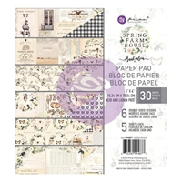 "Εικόνα του Χαρτιά Scrapbooking Prima Marketing Double-Sided Paper Pad 6""X6"" - Spring Farmhouse"