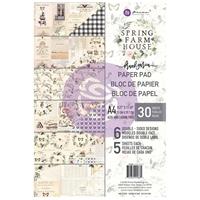 Εικόνα του Χαρτιά Scrapbooking Prima Marketing Double-Sided Paper Pad A4 - Spring Farmhouse