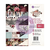 "Εικόνα του Χαρτιά Scrapbooking Prima Marketing Double-Sided Paper Pad 6""X6"" - Midnight Garden"