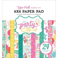 "Εικόνα του Χαρτιά Scrapbooking Echo Park Double-Sided Paper Pad 6""X6"" - Let's Party"