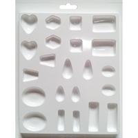 """Εικόνα του Καλούπια Plaster Casting Mold 8""""X9.5"""" - Jewels"""