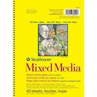 """Εικόνα του Strathmore Mixed Media Vellum Spiral Paper Pad 5.5""""X8.5"""""""