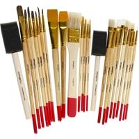 Εικόνα του Paint Brush Value Pack - Σετ Πινέλων
