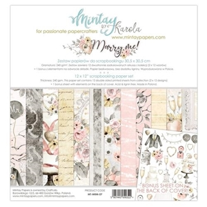 Picture of Karola Witczak Συλλογή Scrapbooking 12''X12'' - Marry Me
