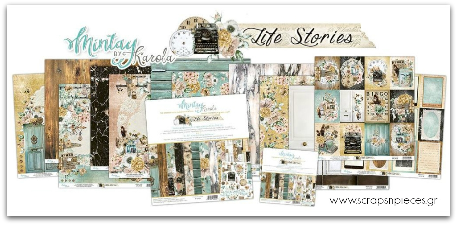 Life Stories Scrapbooking Collection