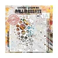 Εικόνα του Stencil Aall & Create 6''x6'' - Lotza Dots