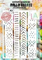 Εικόνα του Στενσιλ Aall & Create A5 - Batik