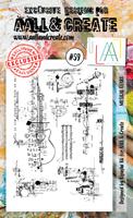 Εικόνα του Σφραγιδες Aall & Create A6 #59 - Musical Gears