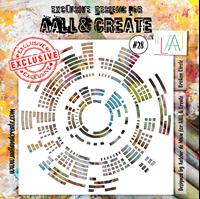 Εικόνα του Στενσιλ Aall & Create 6''x6'' - Broken Circle