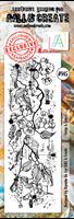 Εικόνα του Σφραγιδα Aall & Create Border #145 - Twigs & Leaves