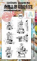 Εικόνα του Σφραγιδες Aall & Create A6 #122 - Chess Pieces
