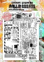 Εικόνα του Σφραγιδα Aall & Create A4 #111 - English Postcard