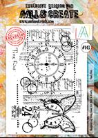 Εικόνα του Σφραγιδα Aall & Create A4 #143 - Time Flies