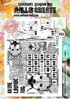 Εικόνα του Σφραγιδα Aall & Create A4 Stamp #161 - Ladybug