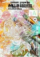 Εικόνα του Στενσιλ Aall & Create A4 - Sunflower Power