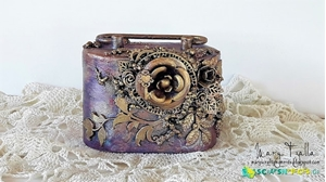 Altered Coin Bank by Mary Tzalla