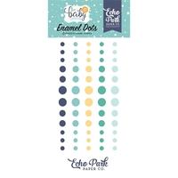 Εικόνα του Echo Park Hello Baby Boy Enamel Adhesive Dots