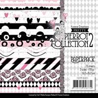 """Εικόνα του Χαρτιά Scrapbooking Find It Trading Yvonne Creations Paper Pack 6""""X6"""" - Pretty Pierrot 2"""