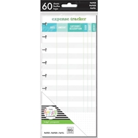 Εικόνα του Happy Planner Medium Half Sheet Fill Paper - Expense Tracker