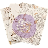 Εικόνα του Prima Traveler's Journal Passport Refill Notebook - Pretty Pale