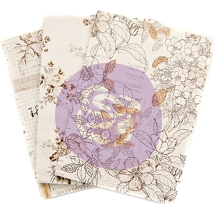 Picture of Prima Traveler's Journal Passport Refill Notebook - Pretty Pale