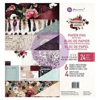 Εικόνα του Χαρτιά Scrapbooking Prima Marketing Double-Sided Paper Pad 12''x12'' - Midnight Garden