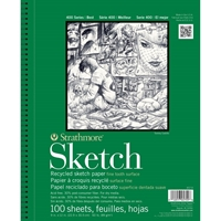 """Εικόνα του Strathmore Sketch Spiral Paper Pad 5.5""""X8.5"""""""