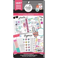 Εικόνα του Create 365 Happy Planner Sticker Value Pack - Super Mom