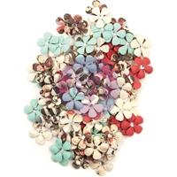 Εικόνα του Prima Marketing Midnight Garden Mulberry Paper Flowers - Twilight