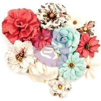 Εικόνα του Prima Marketing Midnight Garden Mulberry Paper Flowers - Elemental Beauty