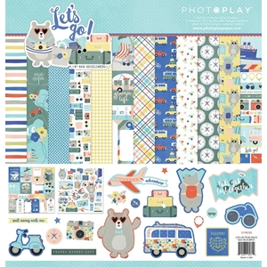 """Picture of PhotoPlay Collection Pack 12""""X12"""" - Let's Go!"""