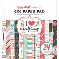 """Εικόνα του Echo Park Double-Sided Paper Pad 6""""X6"""" - I Love Crafting"""