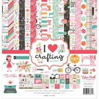 "Εικόνα του Echo Park Collection Kit 12""X12"" - I Love Crafting"